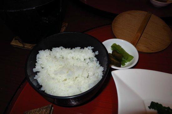 Grace Court Realis - Kinseikan : 夕食・こしひかりはちょっと期待はずれ