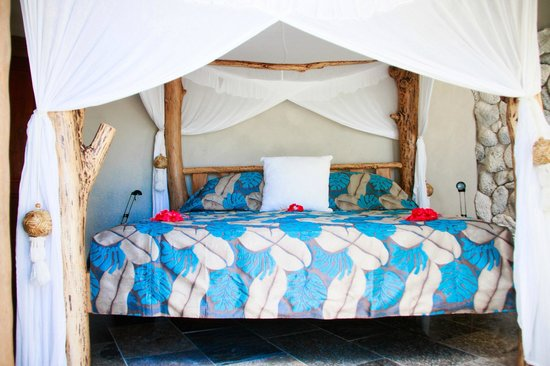 Aitutaki Escape : Main Bedroom