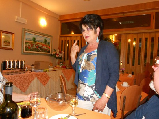 Hotel Simon: Хозяйка отеля Лоредана