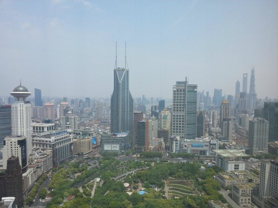 JW Marriott Hotel Shanghai at Tomorrow Square: View from room window