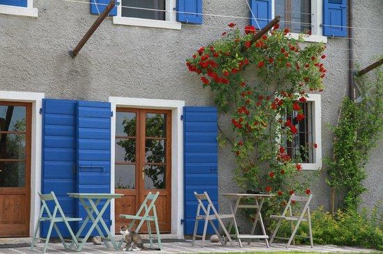 Tenuta La Pergola: Terrasse und Zugangstüren