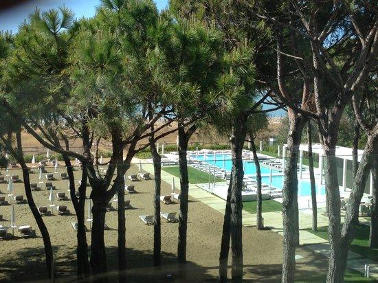 Hotel Mediterraneo: Dal terrazzo della camera