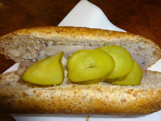 Rob Wigboldus Vishandel: My herring sandwich
