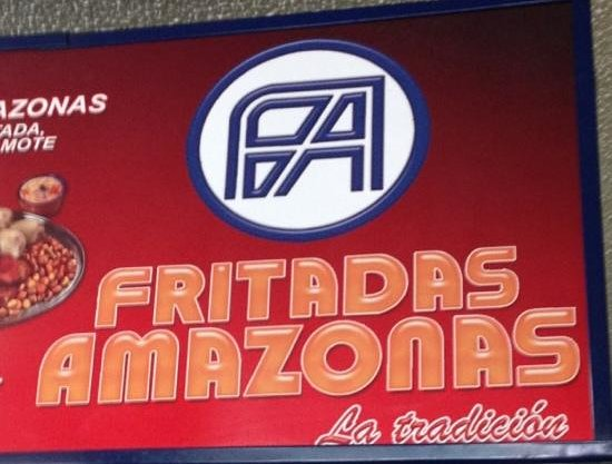 Fritadas Amazonas: main advertisement