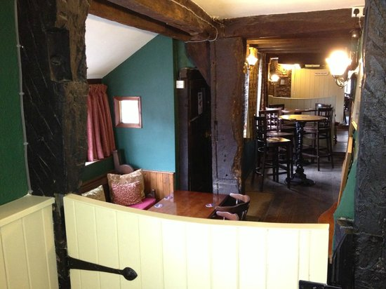 The Boar's Head Hotel : The Well from the TV/Family Room
