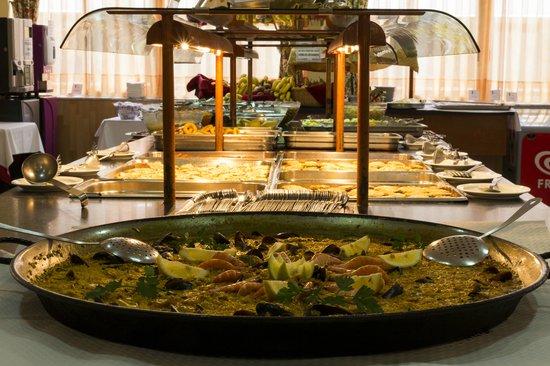 Hotel la Rapita: buffet