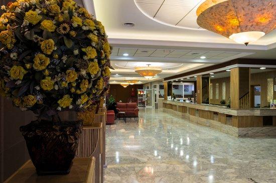 Hotel la Rapita: recepción
