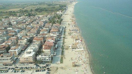 El Greco Beach Hotel: Aerophoto