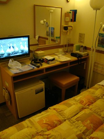 Toyoko Inn Hakodate-ekimae Asaichi: Chambre
