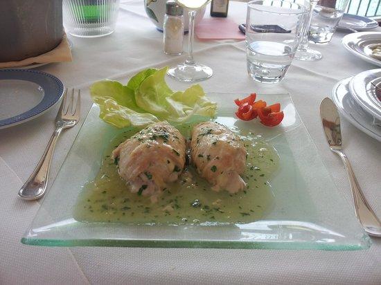 Ravello Art Hotel Marmorata, BW PREMIER Collection: Trancio di pesce con la scamorza.... eccezionale