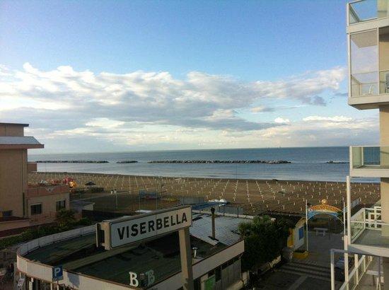 Residence Beach Paradise: Vista dal nostro terrazzo