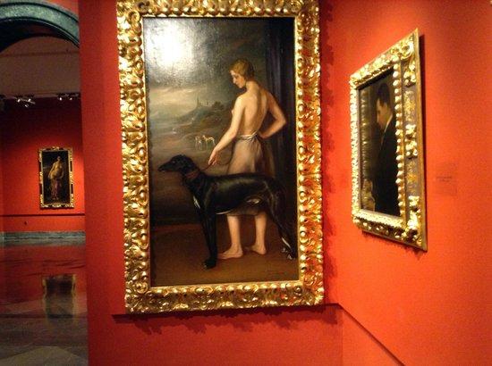 Museo de Julio Romero de Torres: Un cuadro
