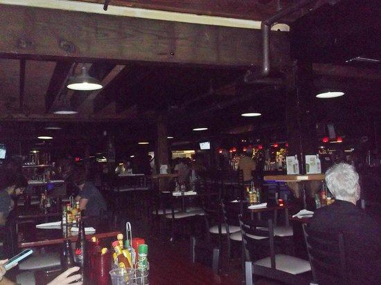 Gators Cafe & Saloon: Inside Gator's Cafe - Lower Level
