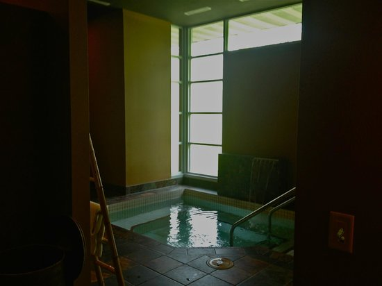 Evensong Spa : Hot tub with steam room adjacent