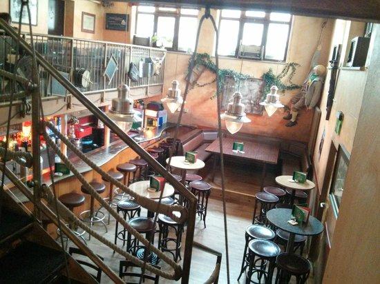 Papa's Kesselhaus: Innenraum (Untergeschoss)