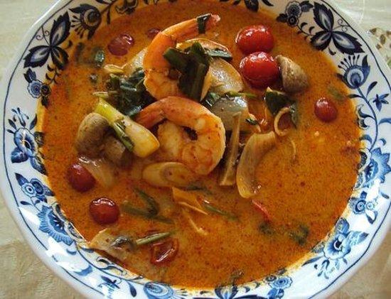 Vermont Thai Restaurant: Tom Yum Soup