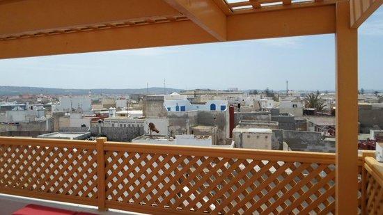 Dar Liouba : sur la terrasse