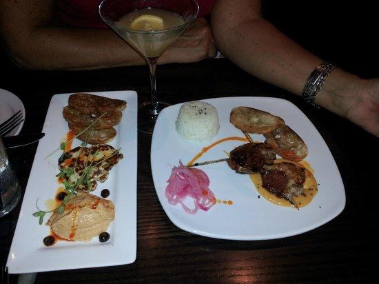 3rd & 3rd: Grilled Halloumi & Shrimp Chorizo Skewers