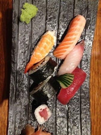 Sono Japanese Restaurant Central City: sushi platter