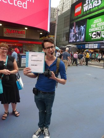 Inside Broadway Tours: Remy the Tour Guide