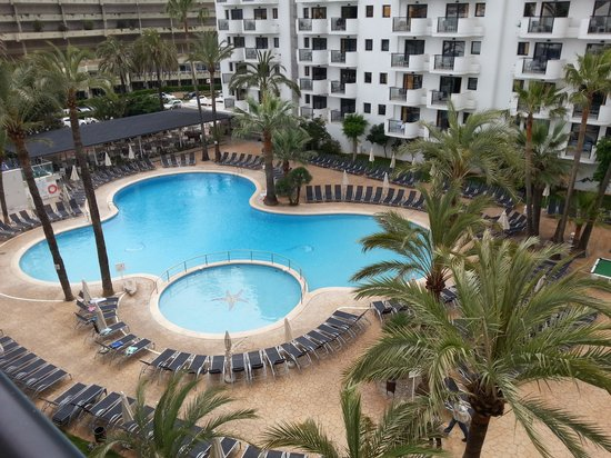 Protur Palmeras Playa: Balcony view from the 4th floor