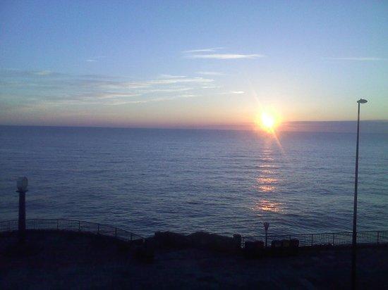 Rex Hotel: sunrise