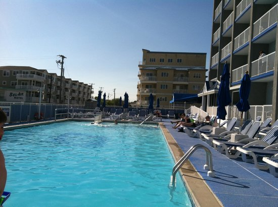 The Pool Picture Of Adventurer Oceanfront Inn Wildwood