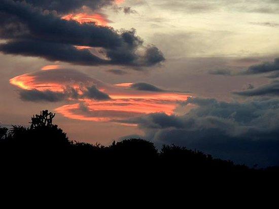 فالي بوشفيلد كانتري لودج: Sunset at Valley Bushveld lodge