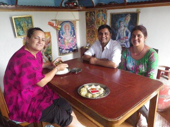 Pokhara Star Inn: Delicious momos...