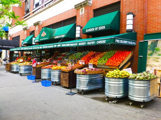 Brooklyn, Nova York: Faire ses courses sur la rue Montague