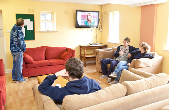 Courtbrack Accommodation: TV Room