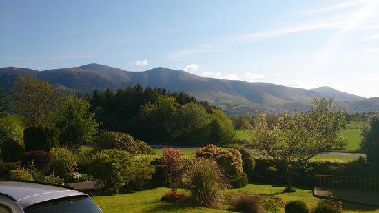 Bisoi B&B Suites: Morning view from Latrigg