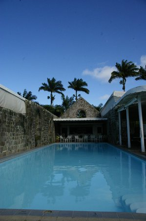 Ottley's Plantation Inn: Pool area