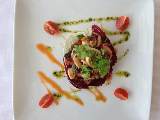 La Rascasse: Salade de poulpe aux couleurs du sud