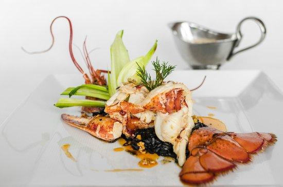 Terasa u Zlate Studne: Grilled Canadian Lobster