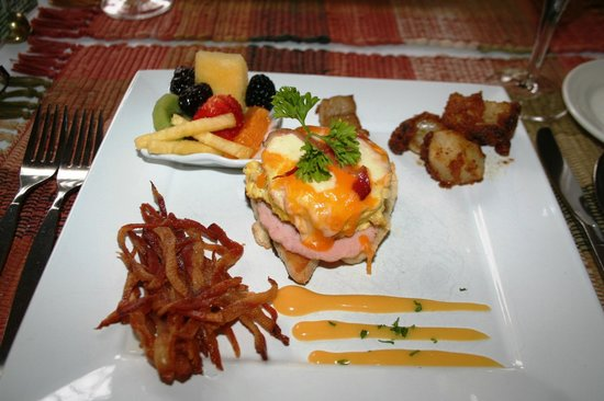 Historic Davy House B&B Inn: Gourmet Breakfast