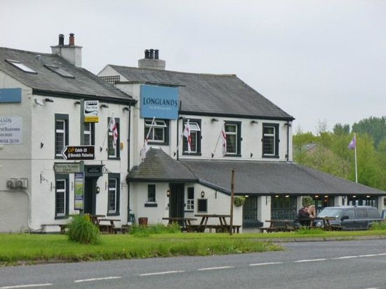 The Longlands Inn & Restaurant: View from Greenlands Farm Village