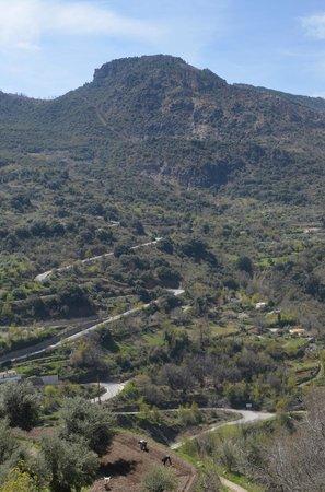 Bed & Breakfast Arroyo de la Greda: Gorgeous Drive