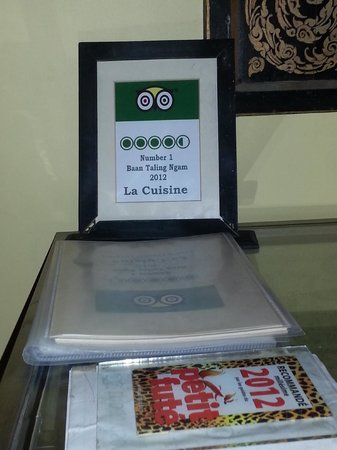 La Cuisine : Very happy with their Number One spot! :)