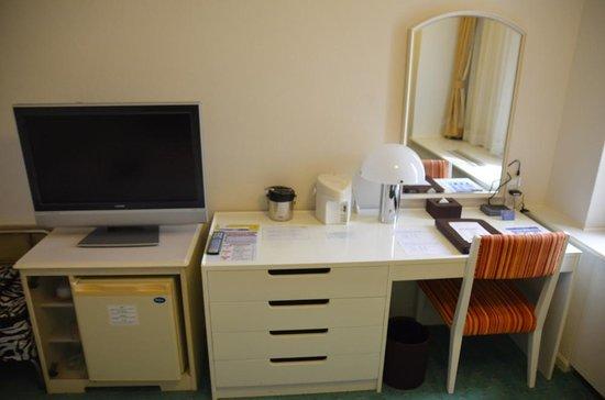 Tokyo Prince Hotel: Study/tv/fridge