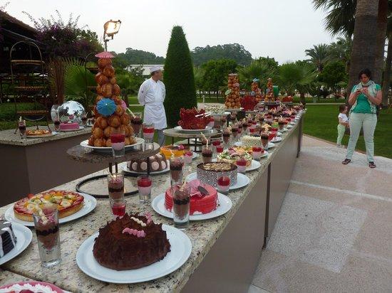 Club Med Palmiye: Buffet dessert