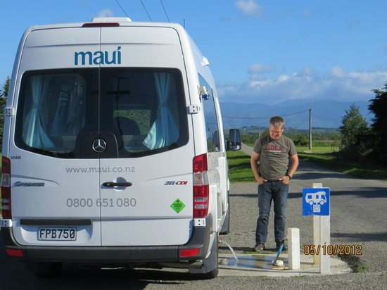 Martinborough TOP 10 Holiday Park: dump station