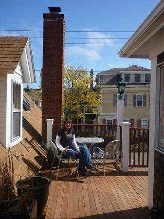 Beaconlight Guesthouse: un altro terrazzino