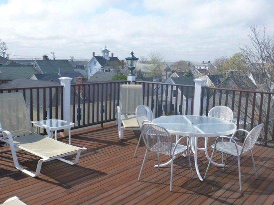 Beaconlight Guesthouse: terrazzo