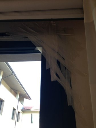 Hilton Garden Inn Florence Novoli: la finestra inscoccettata