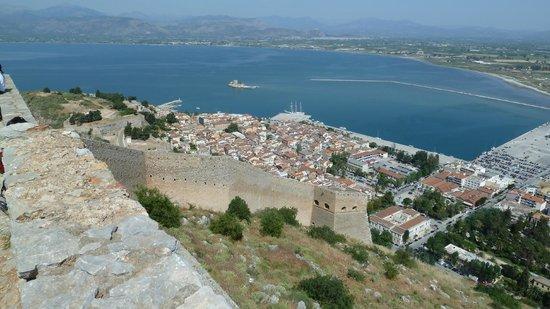 Vasilis Hotel: View from Palimidi