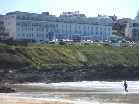 Fistral Beach Hotel and Spa: From the beach