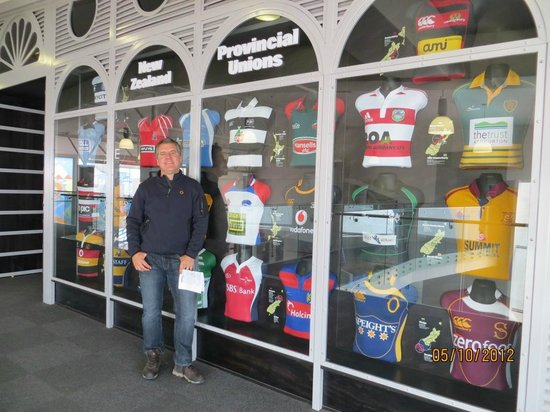 New Zealand Rugby Museum: Museo