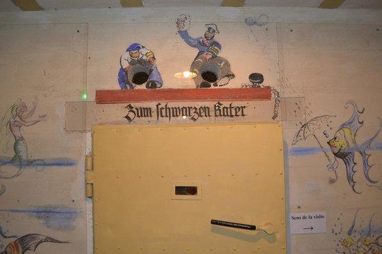 Le Bunker de La Rochelle : Peinture d'époque