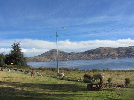 Libertador Lake Titicaca: auf dem Hotelareal